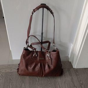 Coach beautiful genuine leather bag 🌸🍀🌼